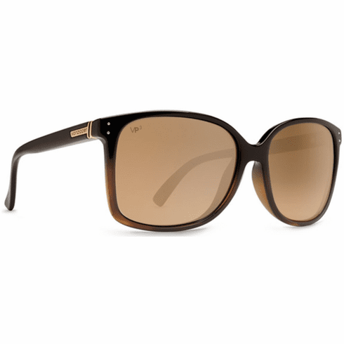 VonZipper Castaway Sunglasses<br>Black Tort Fade/Gold Glo Polar