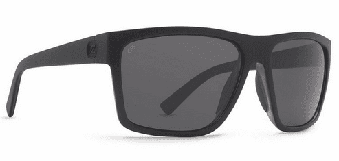 VonZipper Dipstick Sunglasses<br>Black Satin/Vintage Grey Polar