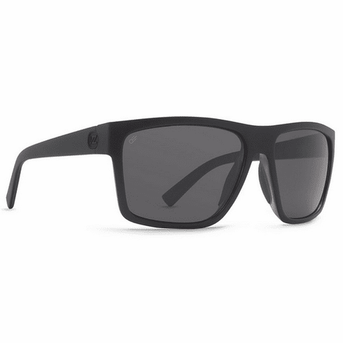 VonZipper Dipstick Sunglasses<br>Black Satin/Full Frontal Grey Poly Polar