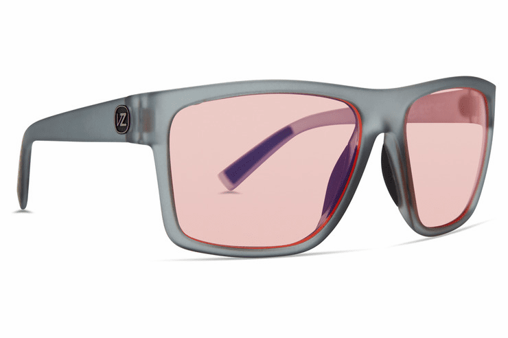 VonZipper Dipstick Sunglasses<br>Grey Translucent Satin/Rose Blue Flash