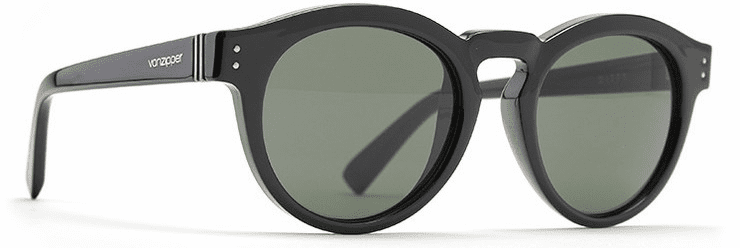 VonZipper Ditty Sunglasses<br>Black Gloss/Vintage Grey