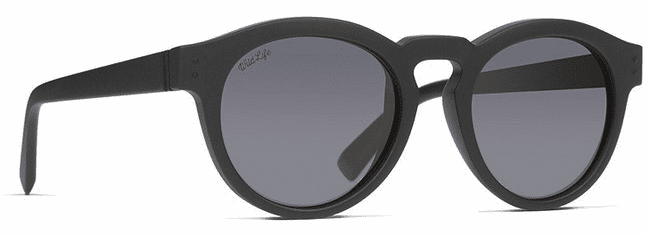 VonZipper Ditty Sunglasses<br>Black Satin/Wild Vintage Grey Polar