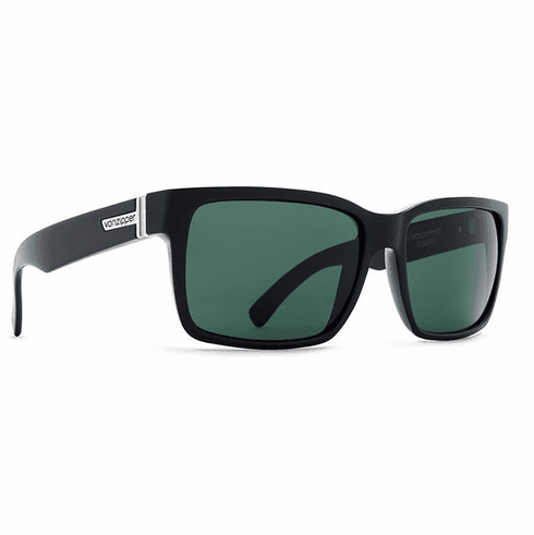 VonZipper Elmore Sunglasses<br>Black Gloss/Vintage Grey