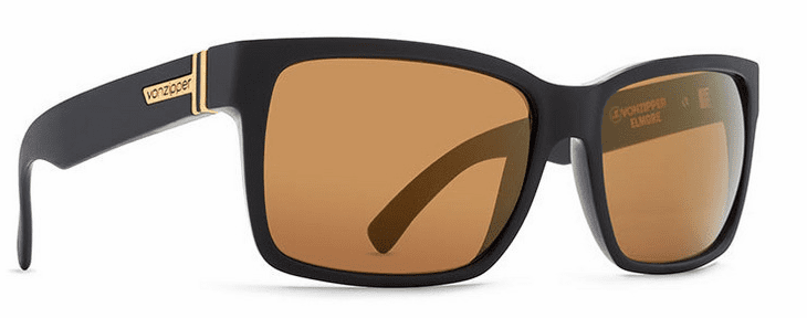 VonZipper Elmore Sunglasses<br>Black/Gold