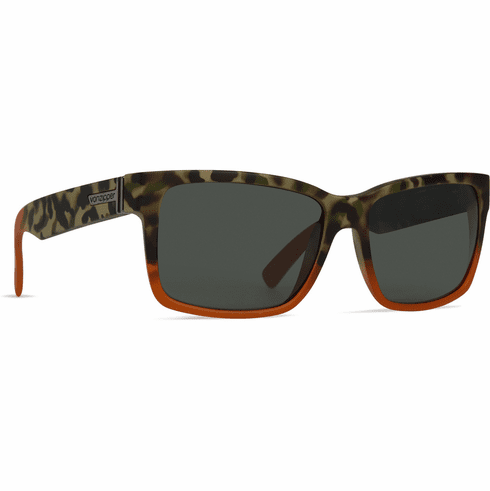 VonZipper Elmore Sunglasses<br>Camo Orange Satin/Vintage Grey