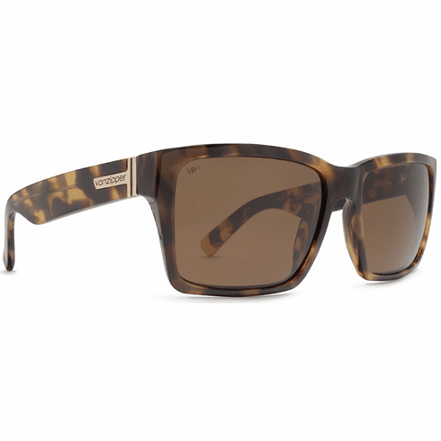 VonZipper Elmore Sunglasses<br>Tortoise/Wildlife Bronze Polarized