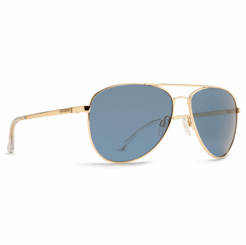 (SALE!!!) VonZipper Farva Sunglasses<br>Gloss Gold/Navy
