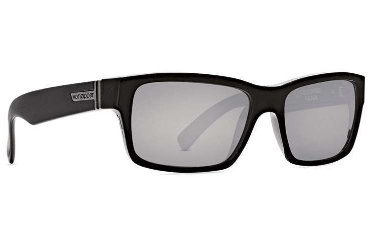 VonZipper Fulton Sunglasses<br>Black Gloss/Silver Chrome