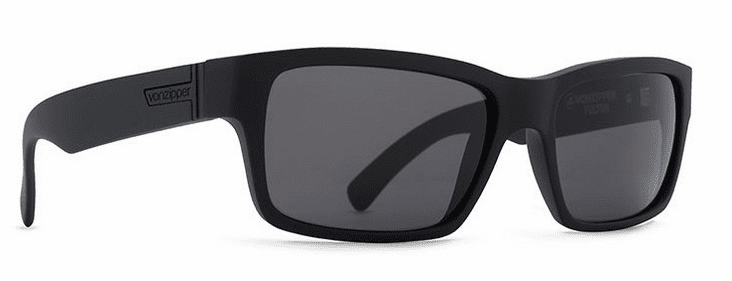 VonZipper Fulton Sunglasses<br>Black Satin/Grey