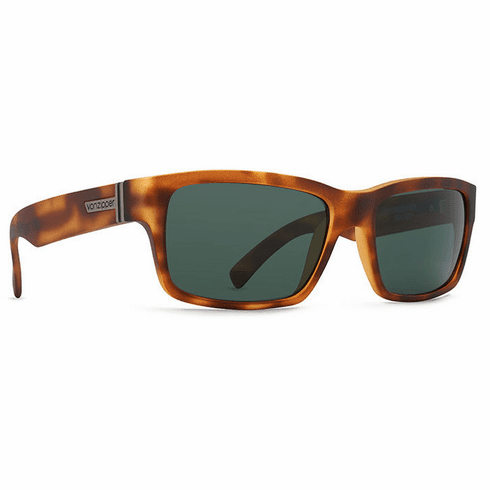 VonZipper Fulton Sunglasses<br>Demi Tort Satin/Vintage Grey