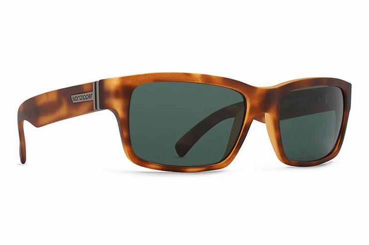 VonZipper Fulton Sunglasses<br>Demi Tortoise Satin/Vinage Grey