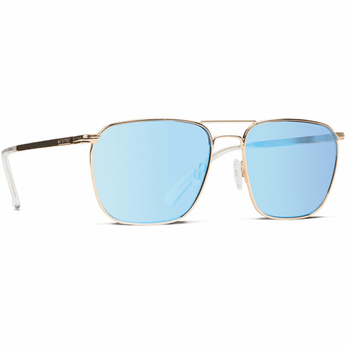 VonZipper League Sunglasses<br>Gold Gloss/Ice Blue Chrome
