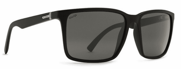 VonZipper Lesmore Sunglasses<br>Black Gloss/Wildlife Vintage Grey Polarized