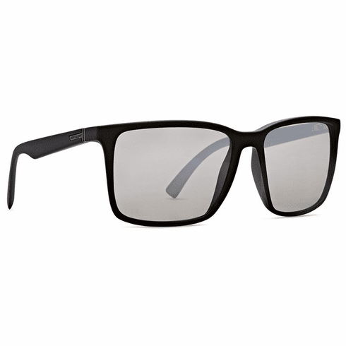 VonZipper Lesmore Sunglasses<br>Black Satin/Grey Chrome