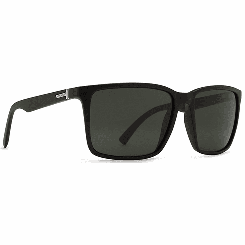 VonZipper Lesmore Sunglasses<br>Black Satin/Vintage Grey