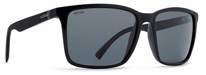 VonZipper Lesmore Sunglasses<br>Black/Wildlife Glass Polar