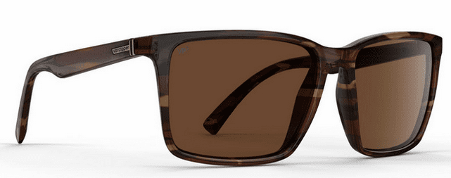 VonZipper Lesmore Sunglasses<br>Tobacco Tortoise Gloss/Bronze Poly Polar