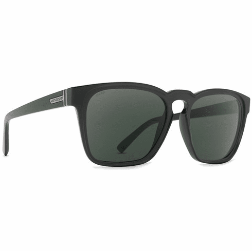 VonZipper Levee Sunglasses<br>Black Gloss/Wild Vintage Grey