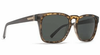 VonZipper Levee Sunglasses<br>Grey Tort/Green