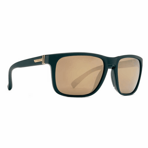 VonZipper Lomax Sunglasses<br>Black/Gold Chrome