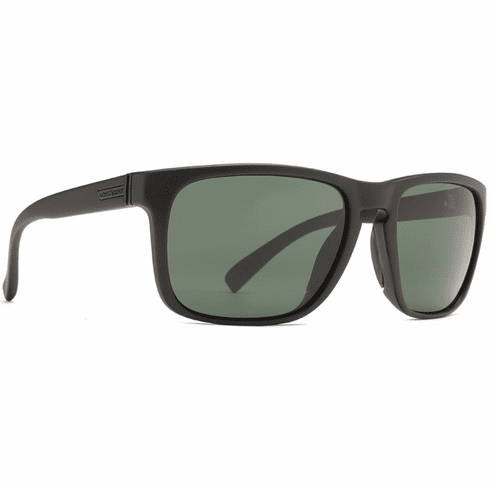 VonZipper Lomax Sunglasses<br>Black Satin/Vintage Grey