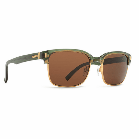 VonZipper Mayfield Sunglasses<br>Green Translucent/Bronze
