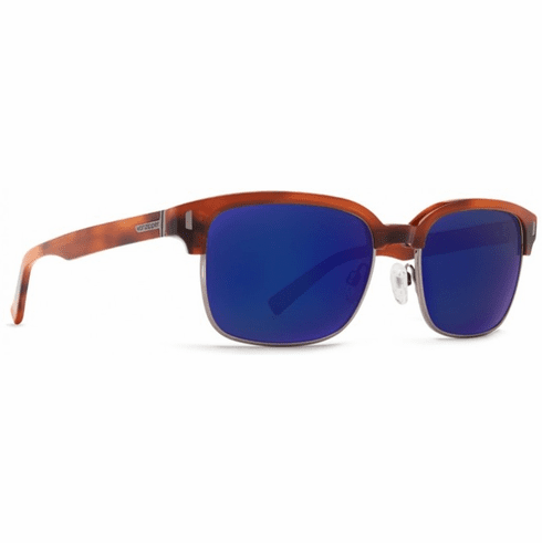 (SALE!!!) VonZipper Mayfield Sunglasses<br>Havana Tort/Vintage Grey Blue Flash