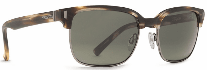 VonZipper Mayfield Sunglasses<br>Tortoise Satin/Grey