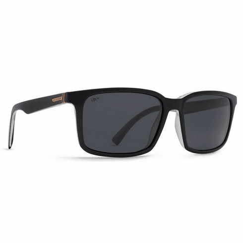 (SALE!!!) VonZipper Pinch Sunglasses<br>Black Crystal/Grey Meloptics Polar