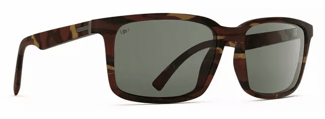 VonZipper Pinch Sunglasses<br>Tobacco Tortoise Gloss/Vintage Grey Polar