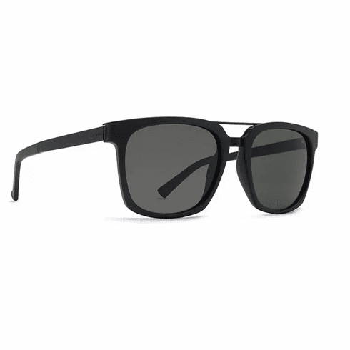 VonZipper Plimpton Sunglasses<br>Black Satin/Grey