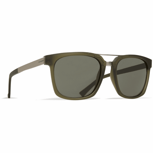 VonZipper Plimpton Sunglasses<br>Forest Satin/Grey Green