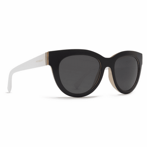 (SALE!!!) VonZipper Queenie Sunglasses<br>Black Buff White/Grey