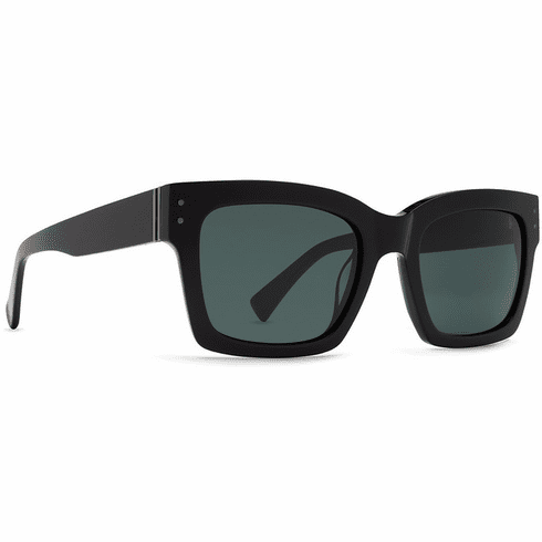 VonZipper Roscoe Sunglasses<br>Black Gloss/Vintage Grey