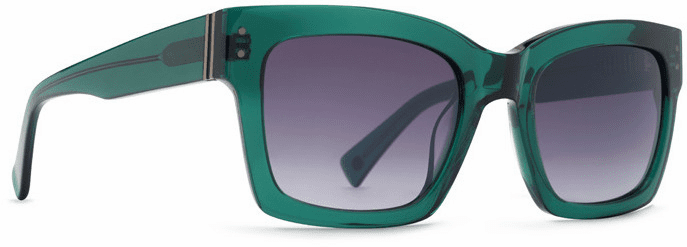 VonZipper Roscoe Sunglasses<br>Translucent Emerald/Grey Gradient