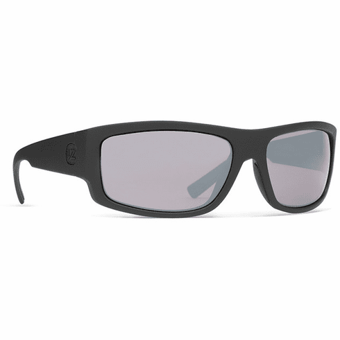 VonZipper Semi Sunglasses<br>Black Satin/Wild Rose Silver Chrome Polar