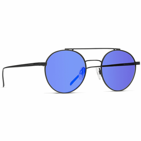VonZipper Skiffle Sunglasses<br>Black Satin/Blue Chrome