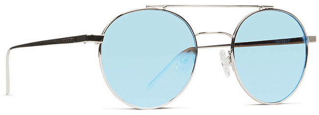 VonZipper Skiffle Sunglasses<br>Silver/Ice Chrome