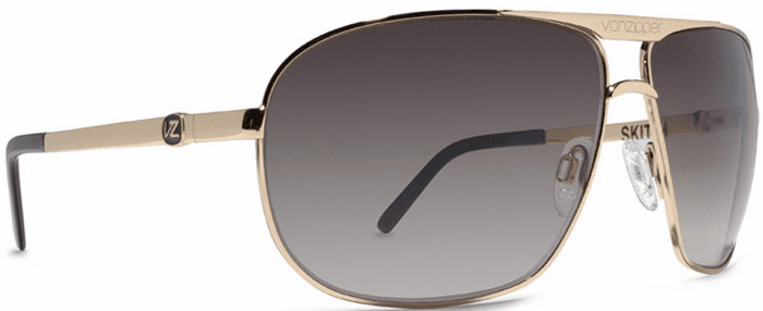 VonZipper Skitch Sunglasses<BR>Gold/Gradient