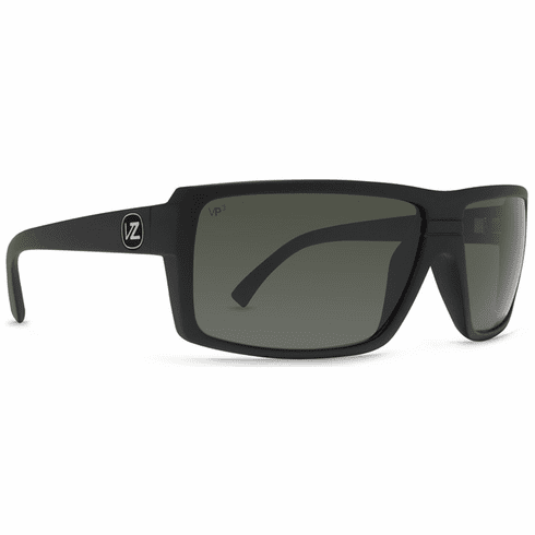 VonZipper Snark Sunglasses<br>Black Satin/Grey Poly Polarized