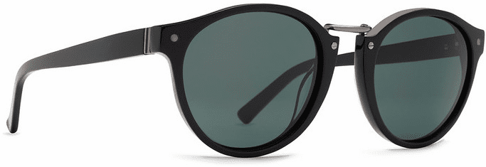 VonZipper Stax Sunglasses<br>Black Gloss/Vintage Grey