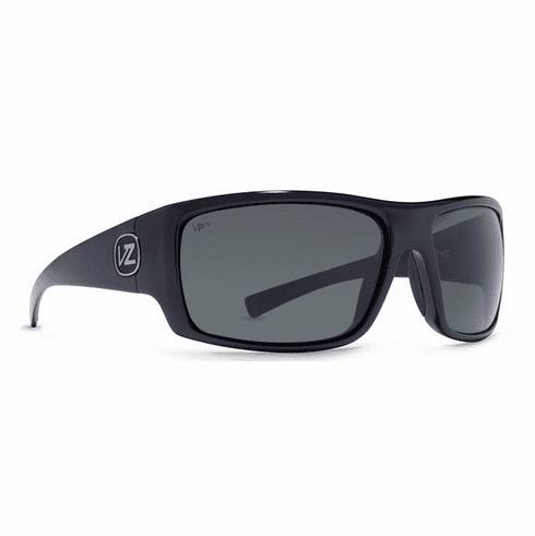 VonZipper Suplex Sunglasses<br>Black Crystal/Grey Meloptics Polar