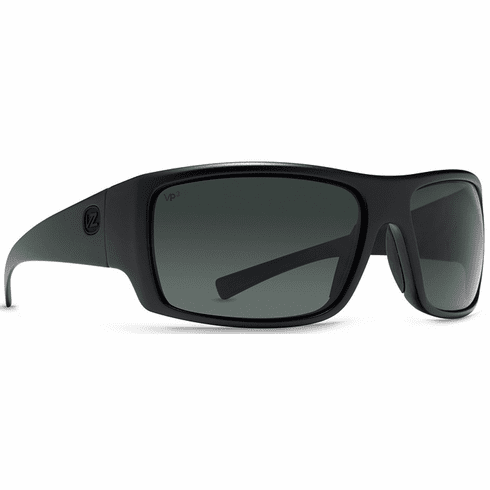 VonZipper Suplex Sunglasses<br>Black Satin/Vintage Grey Polar