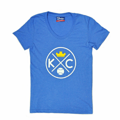 Womens KCMO Crown Tee