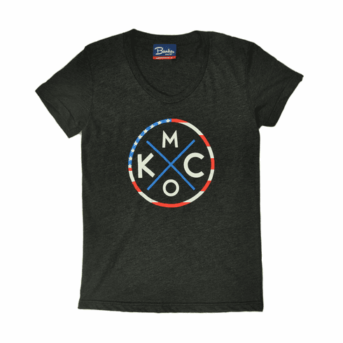 Womens KCMO Stars & Stripes Tee