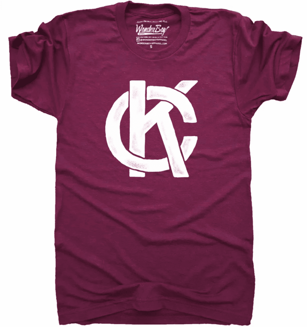 Wonderboy KC Logo Tee
