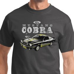1974 Cobra Profile Mens Ford Shirts
