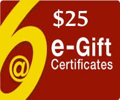 $25 Gift Certificate - Via Email