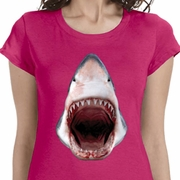 3D Shark Ladies Shirts