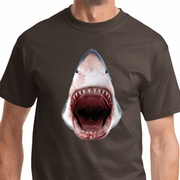 3D Shark Mens Shirts
